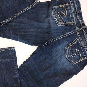 Silver Suki straight Jeans 18/30